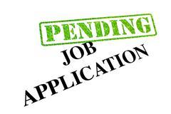 Job Application Pending Stock Photos
