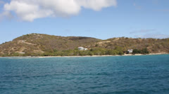 Beach properties - Culebra - stock footage