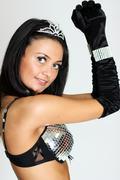 dancing queen - stock photo