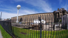 Western State Penitentiary  Stock Footage