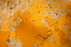 Yellow paint abstract Stock Photos