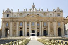 st. peter's basillica, vatican city - stock photo