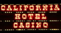 California Hotel Casino, Las Vegas Footage