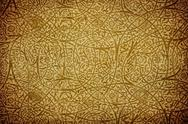 Grunge background with oriental ornaments . Stock Illustration
