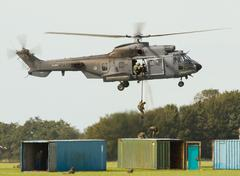 Cougar helicopter Stock Photos