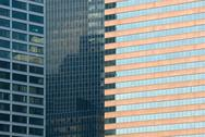 Stock Photo of windows of office buildings