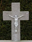 A statue of jezus chist Stock Photos