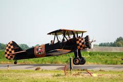 Airshow in antwerp Stock Photos