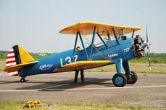 airshow in antwerp - stock photo