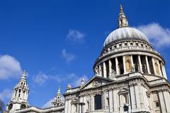Stock Photo of St. Paul's Cathedral in London
