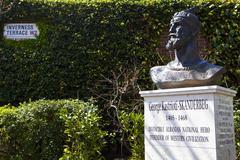 George Kastrioti-Skanderberg Memorial in London - stock photo
