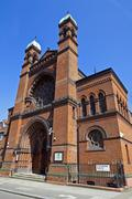 New West End Synagogue in London Stock Photos