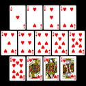 Stock Illustration of Playing Cards (Hearts)