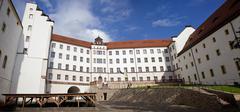 Colditz Castle in Germany - stock photo
