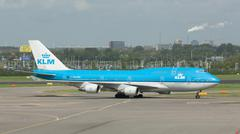 Stock Photo of klm boeing 747-400