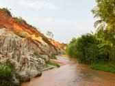 Stock Photo of ham tien canyon in vietnam
