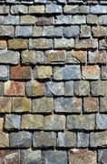 Background slate wall Stock Photos