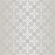 Seamless silver small floral elements wallpaper Stock Illustration