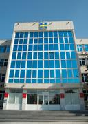 Administration building of anapa Stock Photos
