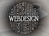 Stock Illustration of word cloud webdesign concept