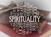 Stock Illustration of spirituality word cloud