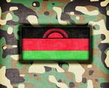 Stock Illustration of amy camouflage uniform, malawi