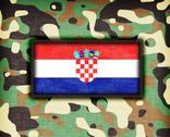 Stock Illustration of amy camouflage uniform, croatia
