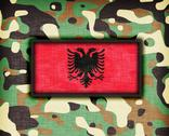 Stock Illustration of amy camouflage uniform, albania