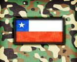 Stock Illustration of amy camouflage uniform, chile