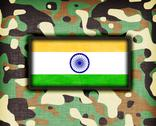 Stock Illustration of amy camouflage uniform, india