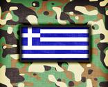 Stock Illustration of amy camouflage uniform, greece