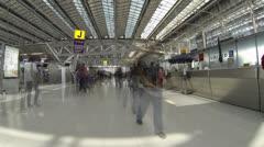 Thailand: Suvarnabhumi Airport Stock Footage