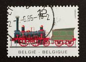 Stock Photo of belgium - circa 1980: stamp printed in belgium