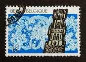 Stock Photo of belgium - circa 1970: stamp printed in belgium