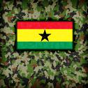 Stock Illustration of amy camouflage uniform, ghana