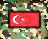 Stock Illustration of amy camouflage uniform, turkey