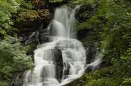 Stock Photo of a waterfall in central ireland