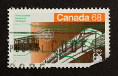 Canada - circa 1980: stamp printed in canada Stock Photos