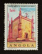 Stock Photo of angola - 1968: stamp printed in angola