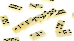 Close up of domino Stock Photos