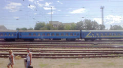 Crimean Train - stock footage