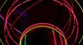 Flashing Neon Sphere Lights Footage