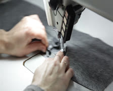 Stock Video Footage of Seamstress at work