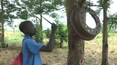 Education in South Sudan Stock Footage