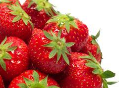 heap of strawberry - stock photo
