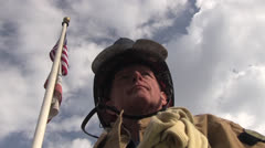American Worker, Fireman Stock Footage