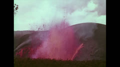 VolcanoEruptionOfKilaueaIkiCrater09 Stock Footage