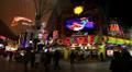 Mermaids Casino, Fremont Street, Las Vegas HD Footage