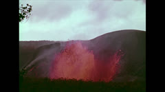 VolcanoEruptionOfKilaueaIkiCrater10 Stock Footage