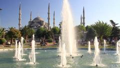 Blue Mosque in Summer Stock Footage